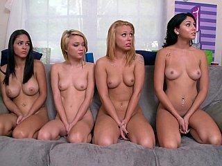 Sisterhood of hazed pussies
