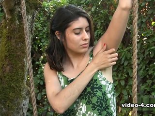 Mitena in Nudism Movie - ATKHairy