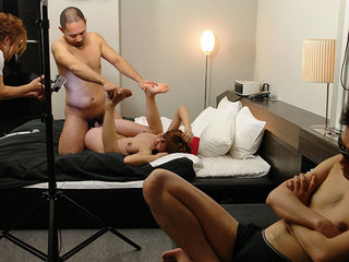 Babe with a hairy twat Misaki gets slammed